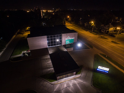AARON BECKMAN/NEBRASKA STOCK PHOTOGRAPHY  2018-09-10  Drone DJI Inspire 1  Norfolk Night Scape