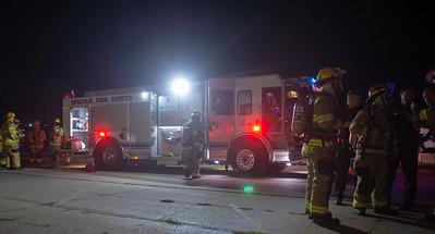 AARON BECKMAN/NORFOLK FIRE  2018-09-11  Norfolk Fire and Rescue  Marathon Press Fire