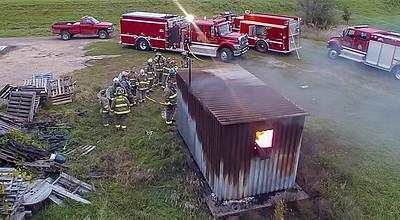 AARON BECKMAN/PIERCE FIRE  2018-09-30  Cadet Training   H520 Thermal