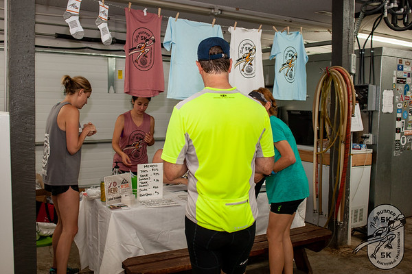 Participants came to Columbus House Brewing in Fayetteville to partake in beer and run 3 miles during the Nutty Runner 5k supporting The Spark Foundation's health and fitness outreach programs.