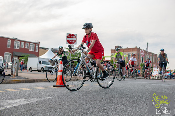 With the sun out and the wind blowing from behind it was a perfect day for a ride. Bikers gathered at the Fayetteville Square to ride the 30 miles on the Razorback Greenway to Bentonville Square where food, music, and a medal awaited.