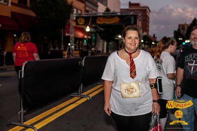 Wizards and witches of all ages ran through the streets of Joplin taking on rain and dementors as the conquered at 1 mile run and 5k for the inaugural Wizarding Run/Walk Festival.