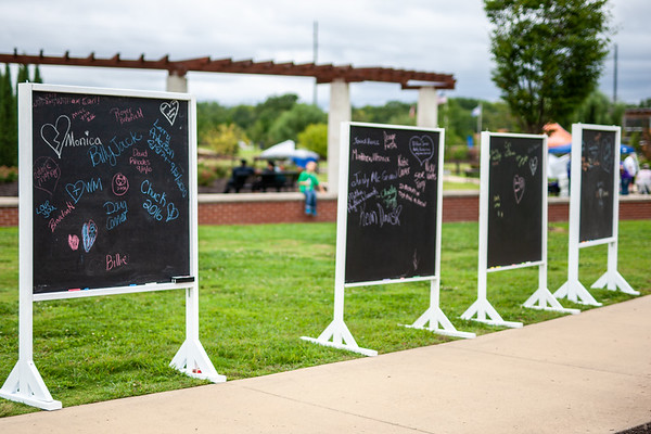 The Northwest Arkansas community gathered at Orchards Park for the NWA Out of the Darkness walk supporting suicide awareness and prevention and breaking the stigma.