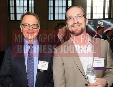 MSPBJ editor, Dirk DeYoung, and 2018 40 Under 40 winner, Nick Roseth of Swat Solutions
