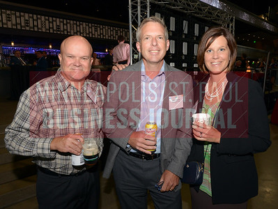 From left, Dale Malley, Dave Dabson and Jennifer Gordon of The Excelsior Group