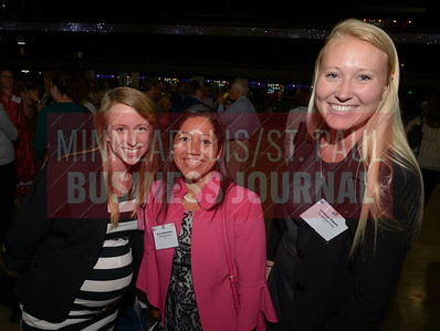 From left, Erica Gosen, Gena Hambleton and Lindsay Edeen of The Excelsior Group. The Excelsior Group is number 15 on the list of Best Places to Work in the medium sized company catagory.