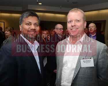 Sanjeev Shah (left) and Blair Madsen