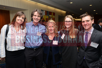 From left, Jessica Lutter and Reid Lutter of Podiumwear and Anne Hed, Rebecca Hed and Andrew Hed of Hed Cycling Products Inc.