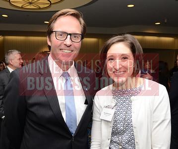 Derek Weatherford and Bree Williamson of BMO Harris Bank