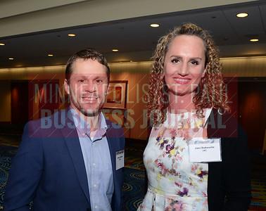 Steve Kalina of MPMA and Jaci Dukowitz of UMC