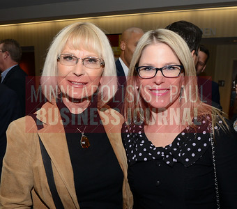2019 Business of Manufacturing honoree Kristin Davidson (right) with her mom Naomi Davidson