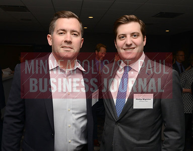 Seth Swanson (left) and Phillip Wiginton of JPMorgan Chase