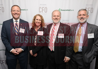 From left, Robert Younger, Leanne Manning, Doug Pudvah and John Falb of CIBC Bank