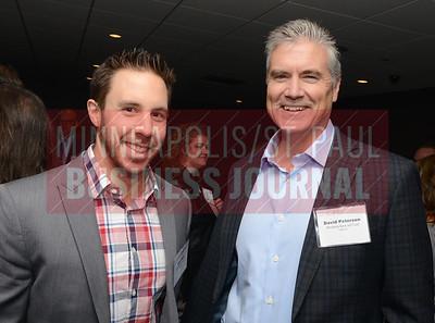 Alex Bahl (left) and David Peterson