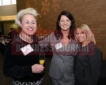 From left, Nicole Reid of Gestalt Coaching and Consulting, Lisa Brezonik of Salo and Jennifer Chou attended Mentoring Monday at the Science Museum of Minnesota.
