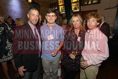 From left, Dave McCuskey, John  McCuskey, 2018 Most Admired CEO Kathy McCuskey of Yamamato and Jake McCuskey