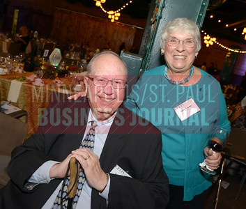 Dick and Jane Zeaske attended the Most Admired CEO event to celebrate their son and honoree Rob Zeaske.