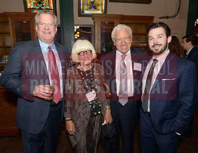 From left, 2018 Most Admired CEO Kelly Doran of Doran Companies, Sylvia Kaplan, Sam Kaplan and Kramer Doran.