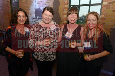 From left, Jane Boardman, Sydney Young, Suzi Shands and Kailey Moen of Mintahoe Catering and Events