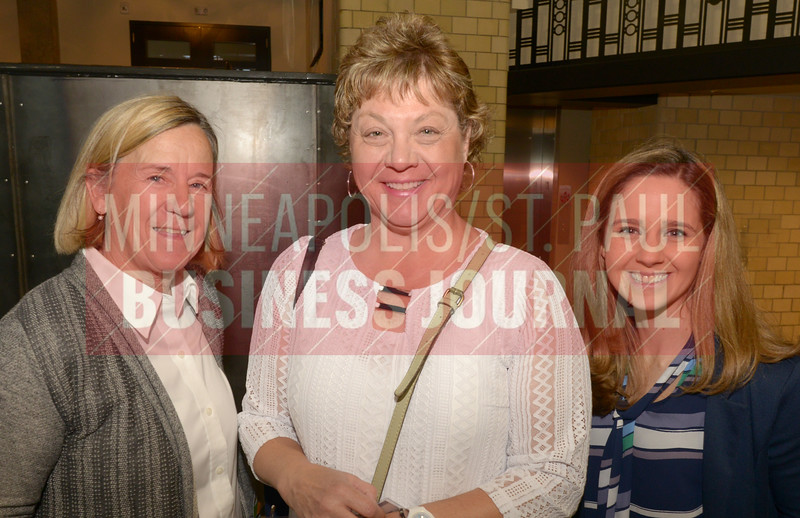 From left, Terry Ganley, Deb Noll and Jenny Hansen