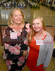 2018 Women in Business honoree J. Marie Fieger of Nemer Fieger brought her daughter Emmie Bergstrom along to the event.