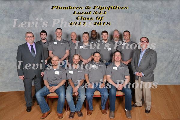 2018 Graduation Plumbers & Pipefitters
