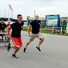 John P. Cleary | The Herald Bulletin<br /> The eighth annual Guns & Hoses charity event at Hoosier Park.