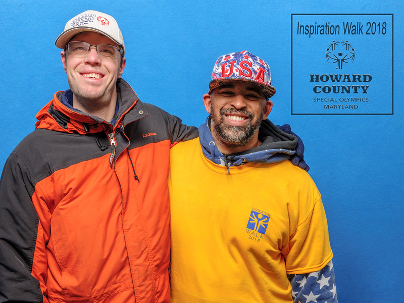 2018 Inspiration Walk, Howard County Special Olympics, Maryland, April 21, 2018
