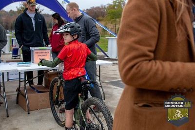 Rain overnight made for a slick muddy course out at the final day of the Kessler Mountain Jam.
