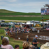 Killdeer Mountain Roundup Rodeo Stands and Monitor  July 3, 2018