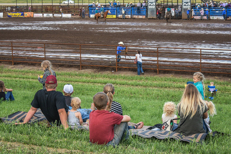Families Love the Killdeer Mountain Roundup  Rodeo   July 3, 2018