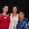Melanie Calderwood LCRP Internal Vice Chair, Nishann Miller LCRP External Vice Chair, and LCRP Member Nila Croll