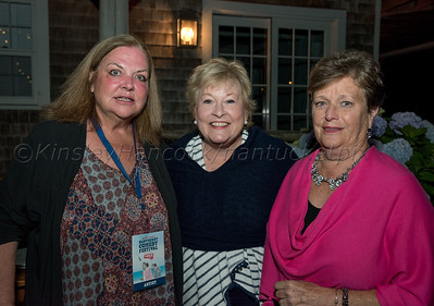 Nantucket Comedy Festival Patron party,  'Sconset, MA July 13, 2018
