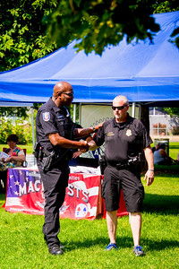 2018 National Night Out - Chief Garry