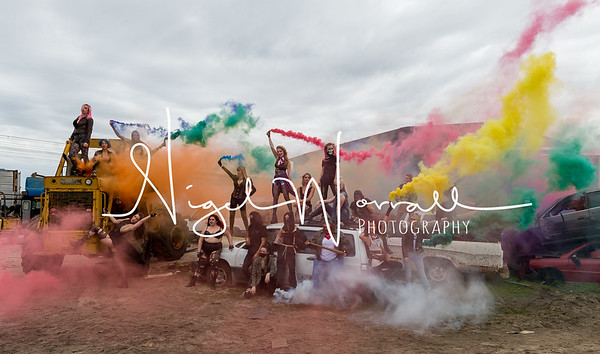 2018 OMG Smoke Bomb Shoot