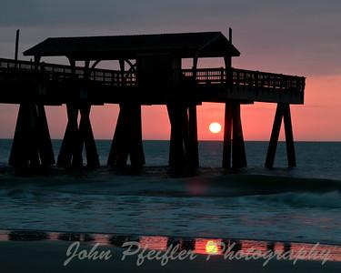 Tybee Beach Pier