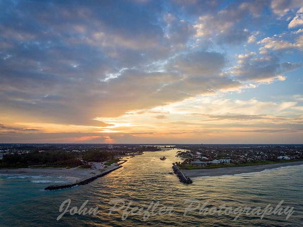 Juptier Inlet Sunset
