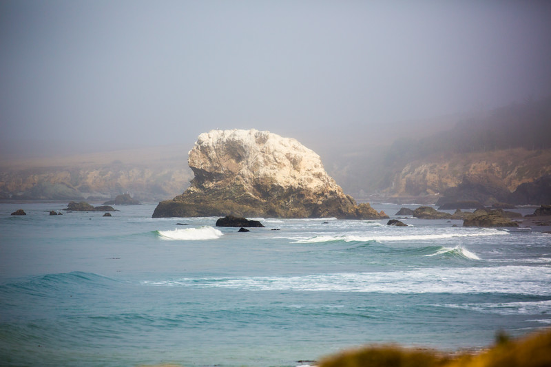 On our way to Monterey, CA along PCH somewhere....
