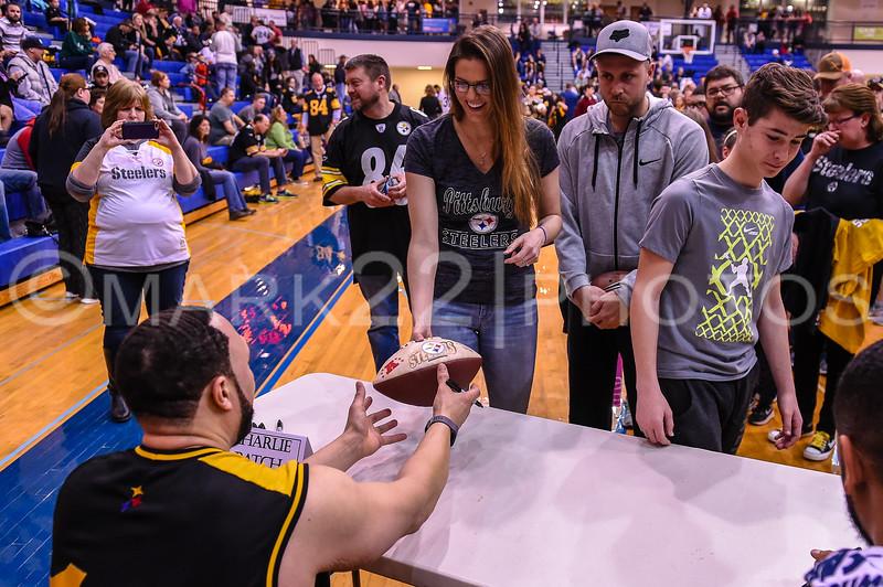 2018 Pittsburgh Steelers vs. Manheim Twp All-Stars