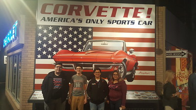 2018 Robotics Team Visits the Corvette Museum