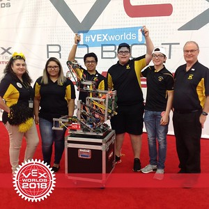 2018 Robotics at VEX World Championships