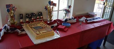 Survivor Cake table