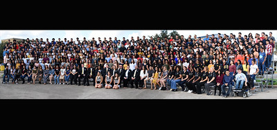 2018 Senior Class Panoramic Picture Day