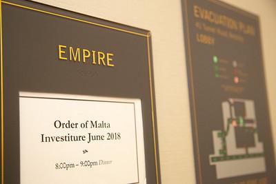 Order of Malta 2018 Investiture Gala