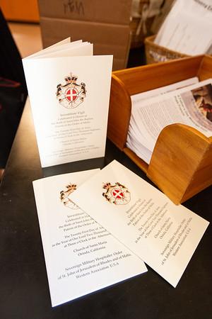 Order of Malta 2018 Vigil