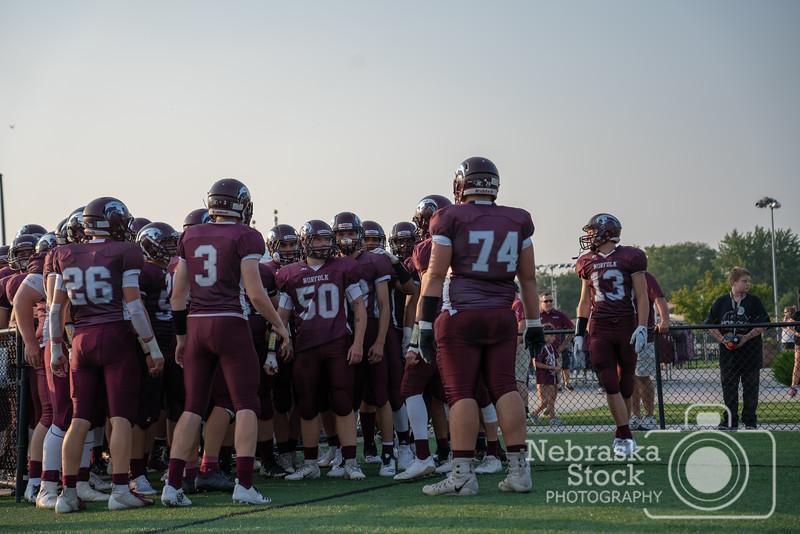 AARON BECKMAN/NEBRASKA STOCK PHOTOGRAPHY<br /> <br /> 2018-08-24<br /> <br /> Norfolk vs Columbus
