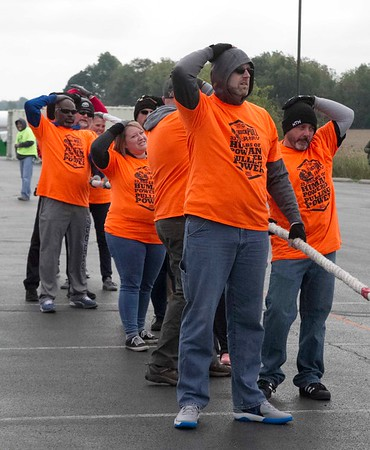 Bob Hickey   For The Herald Bulletin<br /> United Way Truck Pull at Hoosier Park on Saturday.