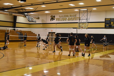 2018 Volleyball Practice