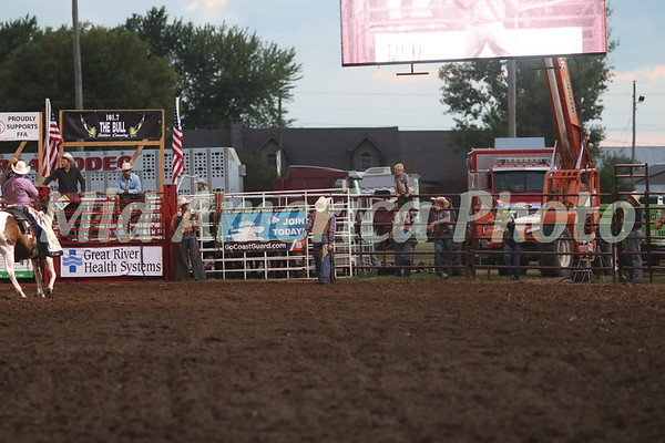 Saddle Bronc rider Tegan Smith