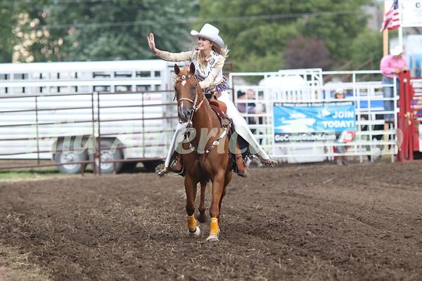 Scarlett Gruener, 2018 Miss Wapello Rodeo